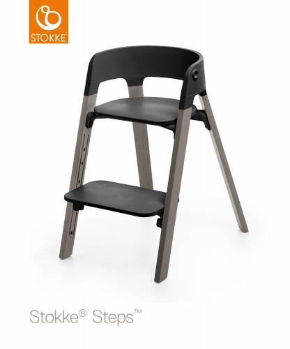 STOKKE Steps - Hazy Grey/Black