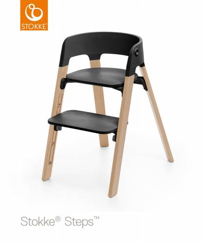 STOKKE Steps -  Natural/Black