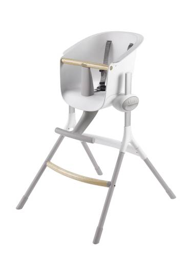 BEABA Up&Down High Chair Grey/White