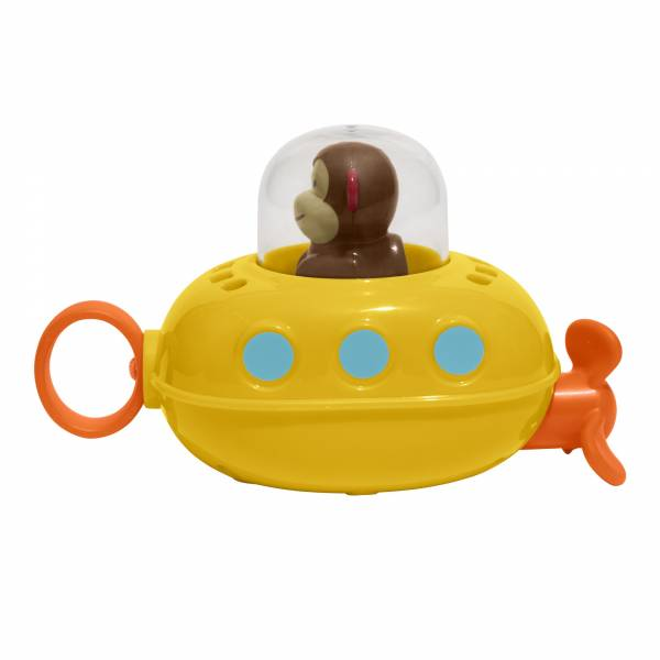 SKIP HOP Bath Zoo Pull&Go Submarine Monkey