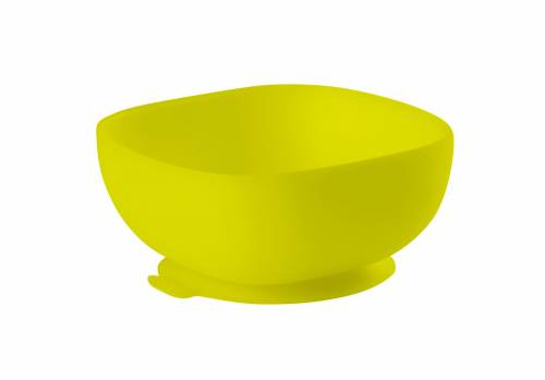 BEABA Silicone Suction Bowl - Green
