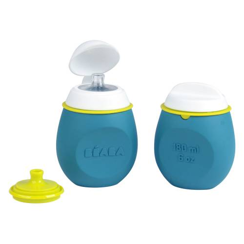 BEABA BabySqueez 2 in 1 - Blue S
