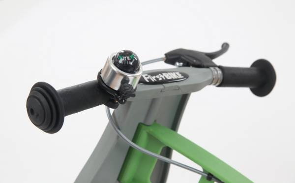 FIRSTBIKE Bell - Compass Silver