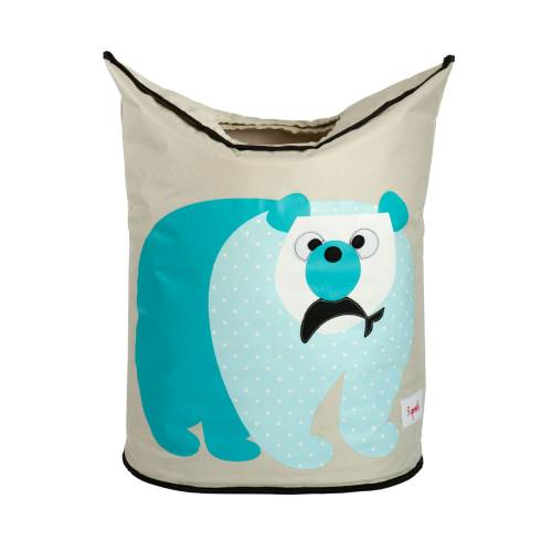 3 SPROUTS Laundry Hamper - Polar