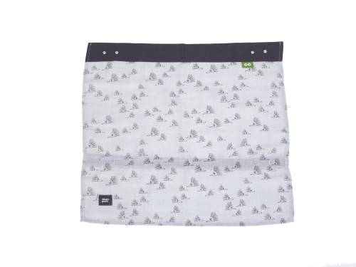SIMPLY GOOD Car Sunshade Grey Hedgehogs