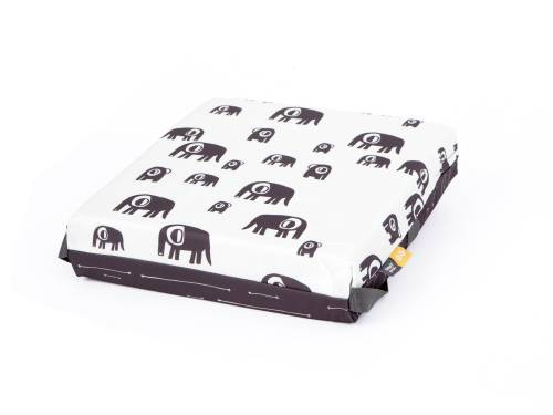 SIMPLY GOOD Booster Cushion - Grey Elephant