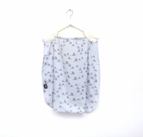 SIMPLY GOOD Nursing Cover Duo - Grey Hedghog
