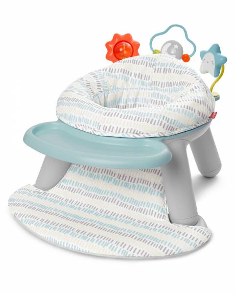 SKIP HOP Silver Lining Cloud 2 in1 Activity Floor Seat