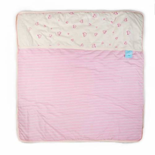 GITTA Blanket Large - Pink Hearts