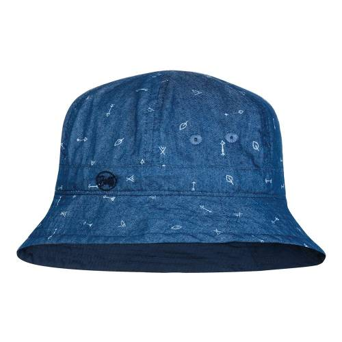 BUFF CAP Bucket Hat Arrows Denim