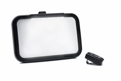 FILLIKID Car Seat Mirror Black with Led