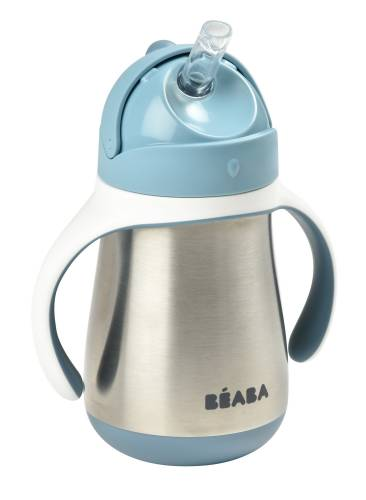 BEABA Stainless Steel Cup 250ml - Blue