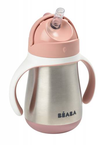 BEABA Stainless Steel Cup 250ml - Pink