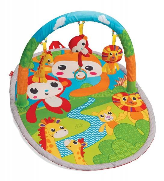 INFANTINO Activity Gym Explore & Store - Jungle