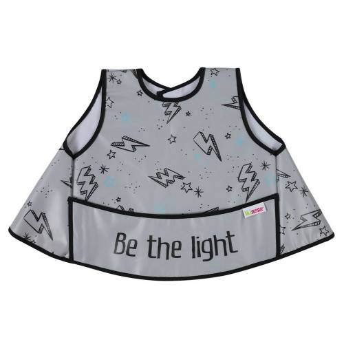MINENE Full Vest Peva Bib - Light Grey