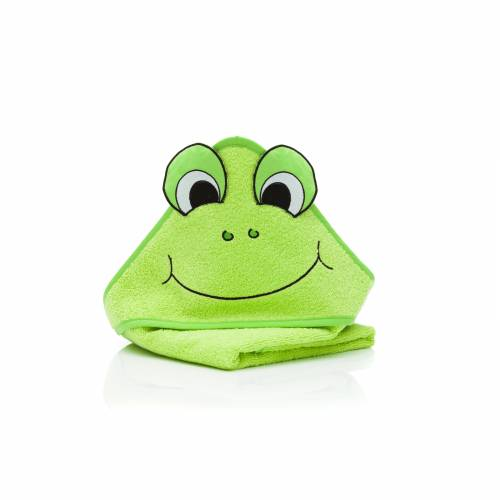 FILLIKID Hooded Towel 75x75cm - Frog
