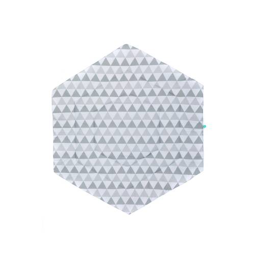 FILLIKID Playpen mat - Triangle Grey