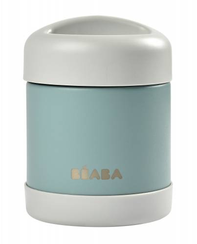 BEABA Thermo Food Jar 300 ml - Light Mist/Green