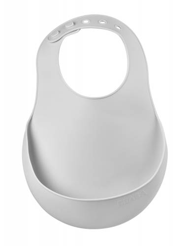 BEABA Silicone Bib - Light Mist