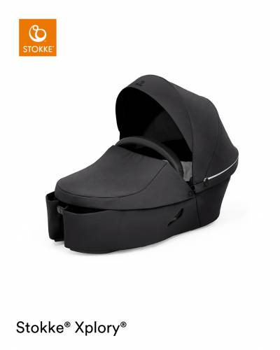 STOKKE Xplory X Carrycot - Rich Black