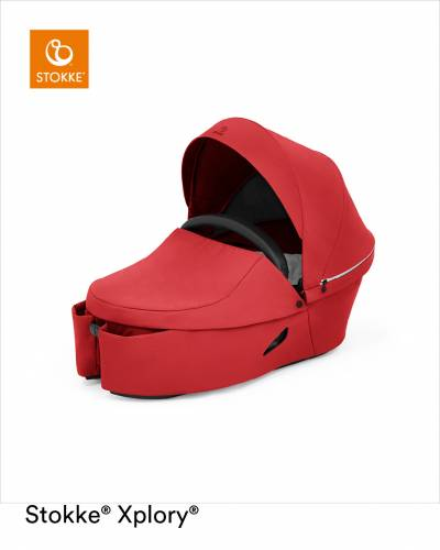 STOKKE Xplory X Carrycot - Ruby Red
