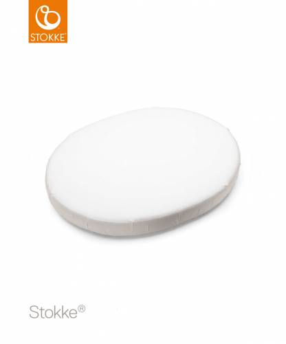 STOKKE Sleepi Fitted Mini Sheet - White