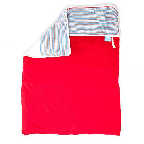 GITTA Blanket Large - Red Stripes