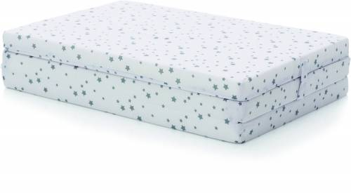 FILLIKID Mattress for Travel Cot - Star Grey